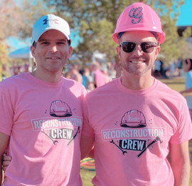 Doctors Gawley and Mahabir at the 2019 PInk Out 5k