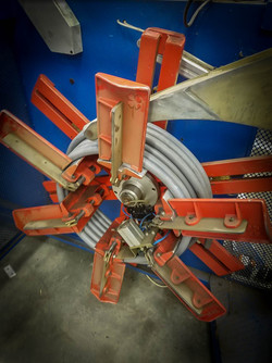 Completed Tube Coiler