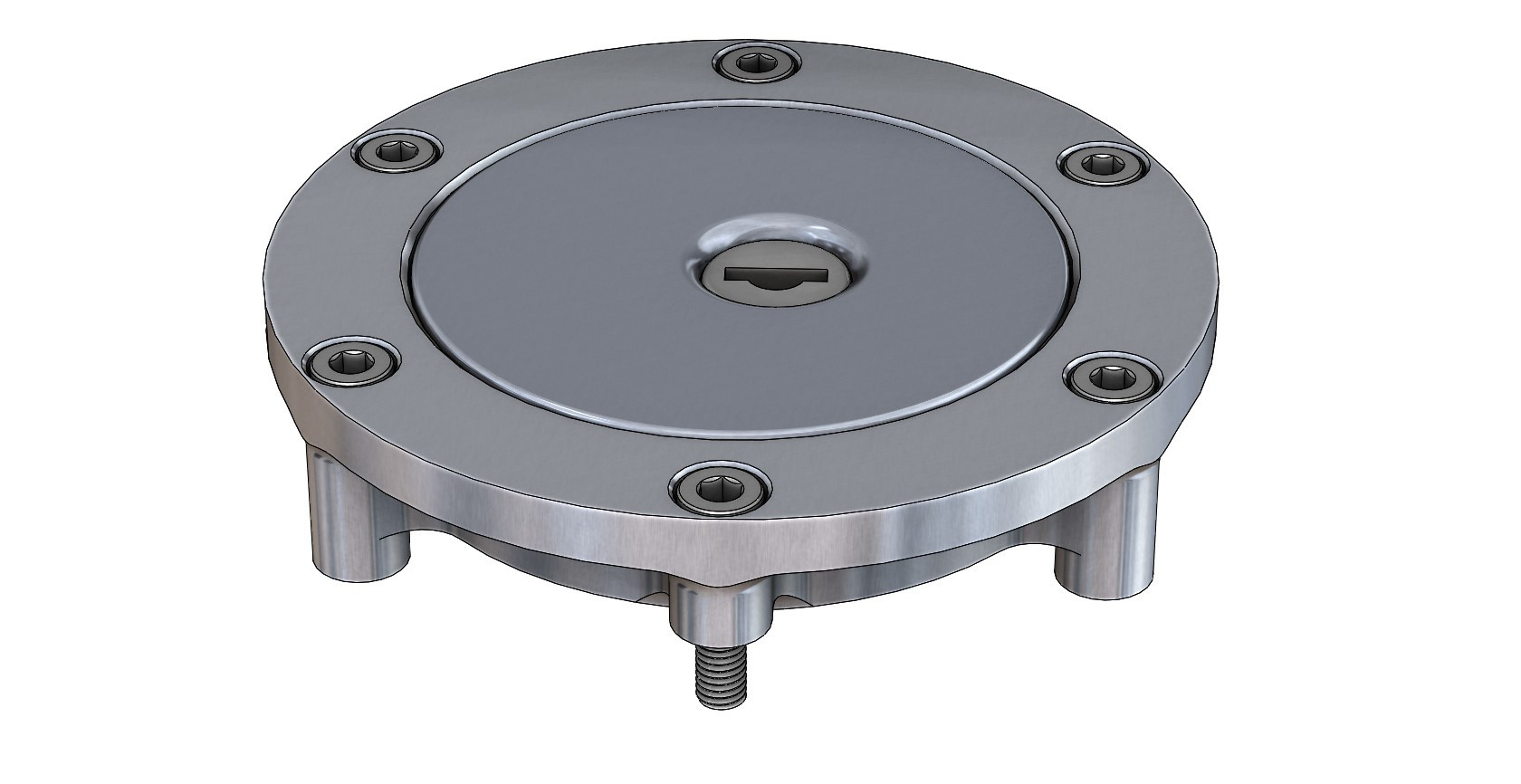 CAD Model - Fuel Filler Cap Housing