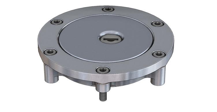 CAD Model - Fuel Filler Cap Housing