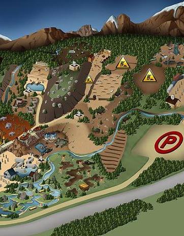 BlackOps Paintball map terrains