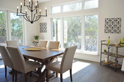 Volente Lakeway Austin Vacant Home Staging Dining Room