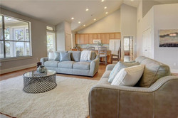 Owner Occupied Home Staging Living Room