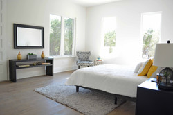 Volente Lakeway Austin Vacant Home Staging Master Bed