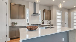 Transitional Kitchen Staging