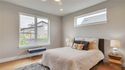 Austin Condo Modern Master Bedroon Staging