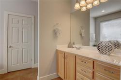 Owner Occupied Home Staging Master Bathroom