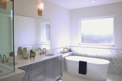 Volente Lakeway Austin Vacant Home Staging Master Bath