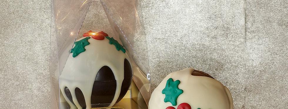 Chocolate Christmas Pudding