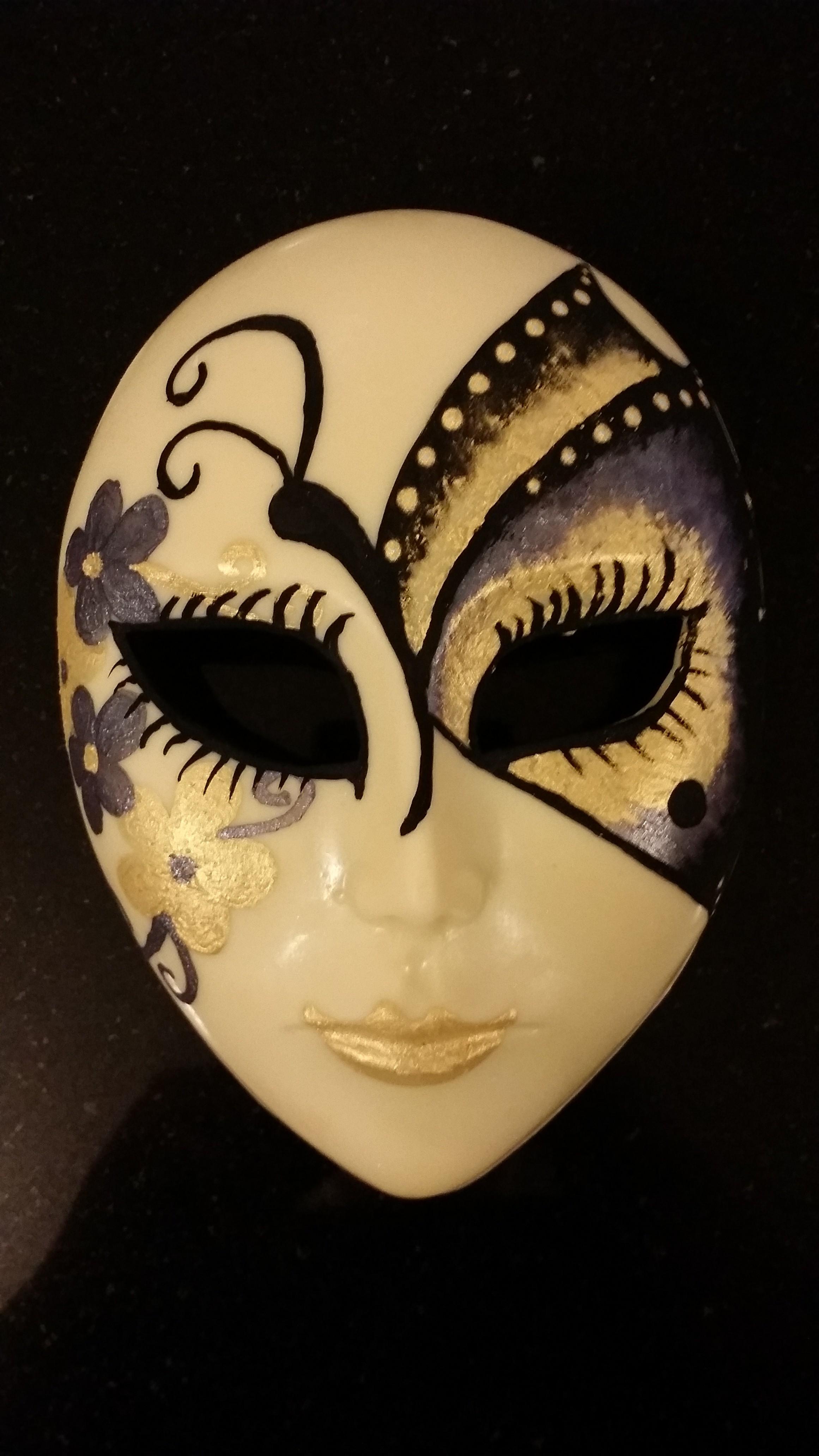 Bespoke Butterfly Venetian Mask