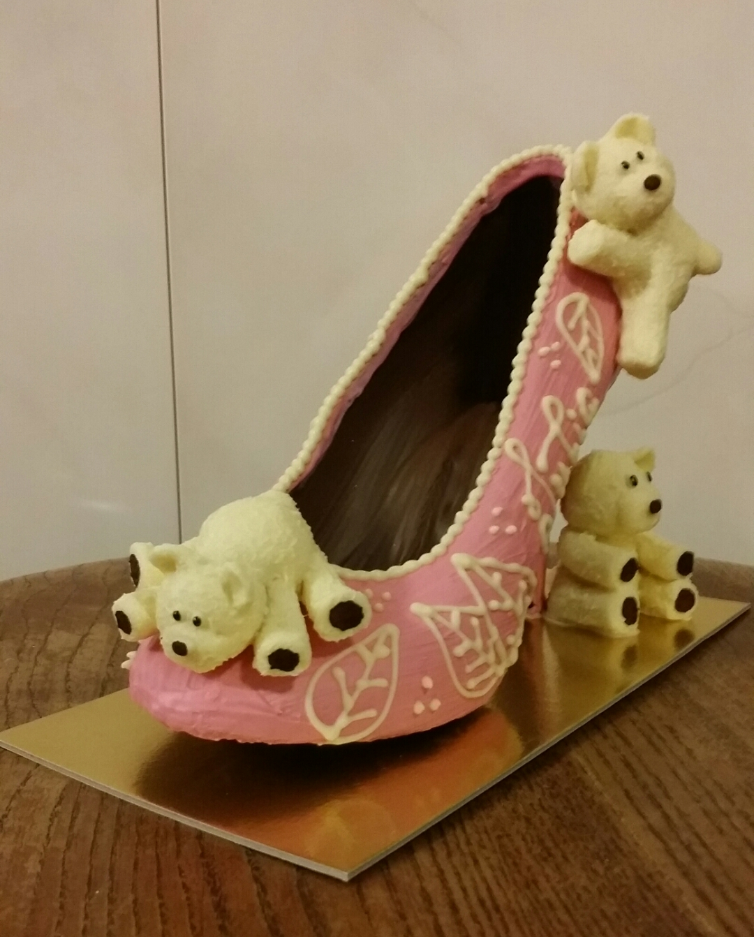 Bespoke Chocolate Shoe