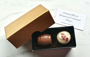 Artisan Chocolate Wedding Favour