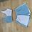 Thumbnail: Blue and white loungewear set