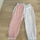 Thumbnail: Baby pink and white joggers