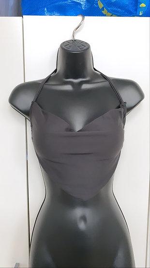 Cowl neck crop top