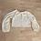 Thumbnail: Cream tie balloon sleeve top