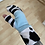 Thumbnail: Baby blue and zebra mittens