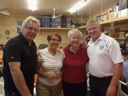 Ray, Gloria, Doreen and Stan