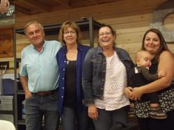 Team #1 - Daryl, Lee Ann, Deb, Bob