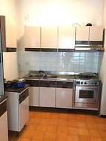 La cucina prima della ristrutturazione