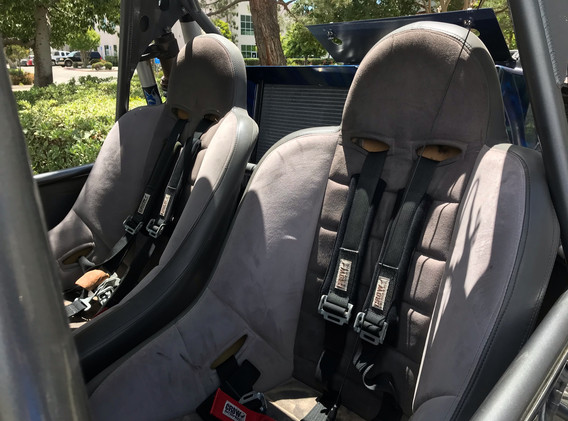 PRP seats and belts