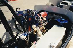 dragster interior