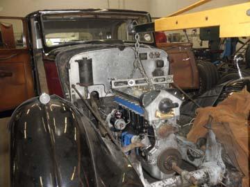 39 lagonda motor install