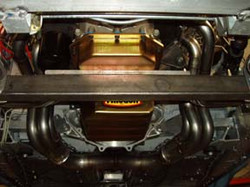 prowler oil pan to crossmember
