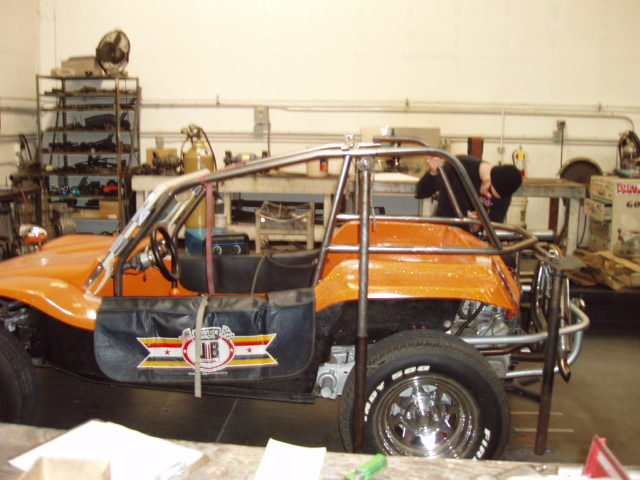 Manx roll cage