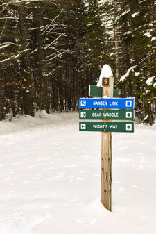 cross country ski trails nansen