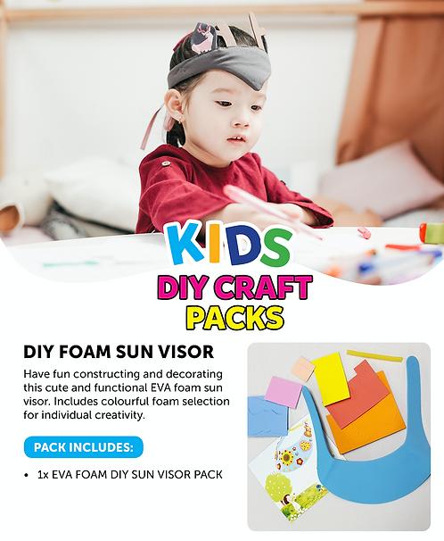 DIY Foam Sun Visor