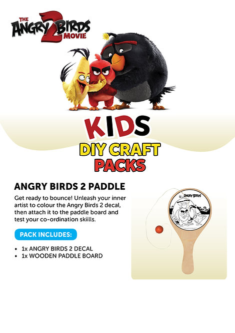 Angry Birds 2 Paddle