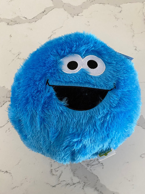 Cookie Monster Plush Cushion 14""