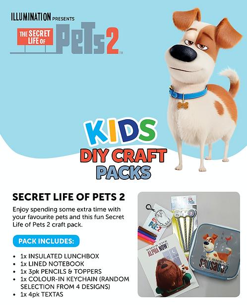 Secret Life of Pets 2 pack