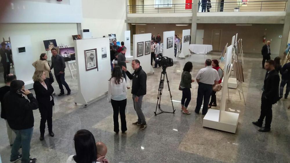 Foto Abertura da Exposição