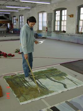 The Artist as a YoungMan - Ivan Pazlamatchev.
