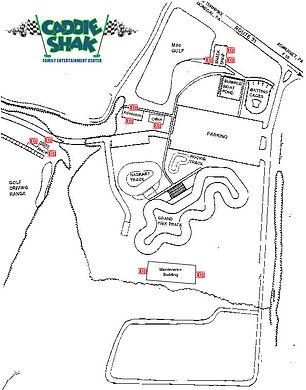 Caddie Shak Park Map(Updated June 2020).