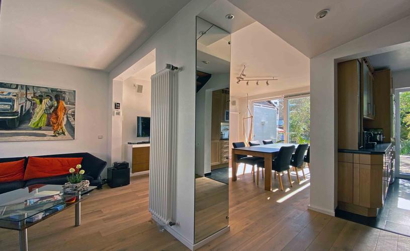 Offen und modern gestalltete Wohnräume