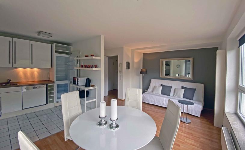 Offener Küchen- / Wohnbereich