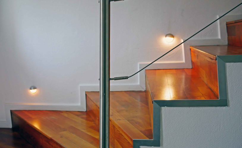 Treppenaufgang / Echtholz