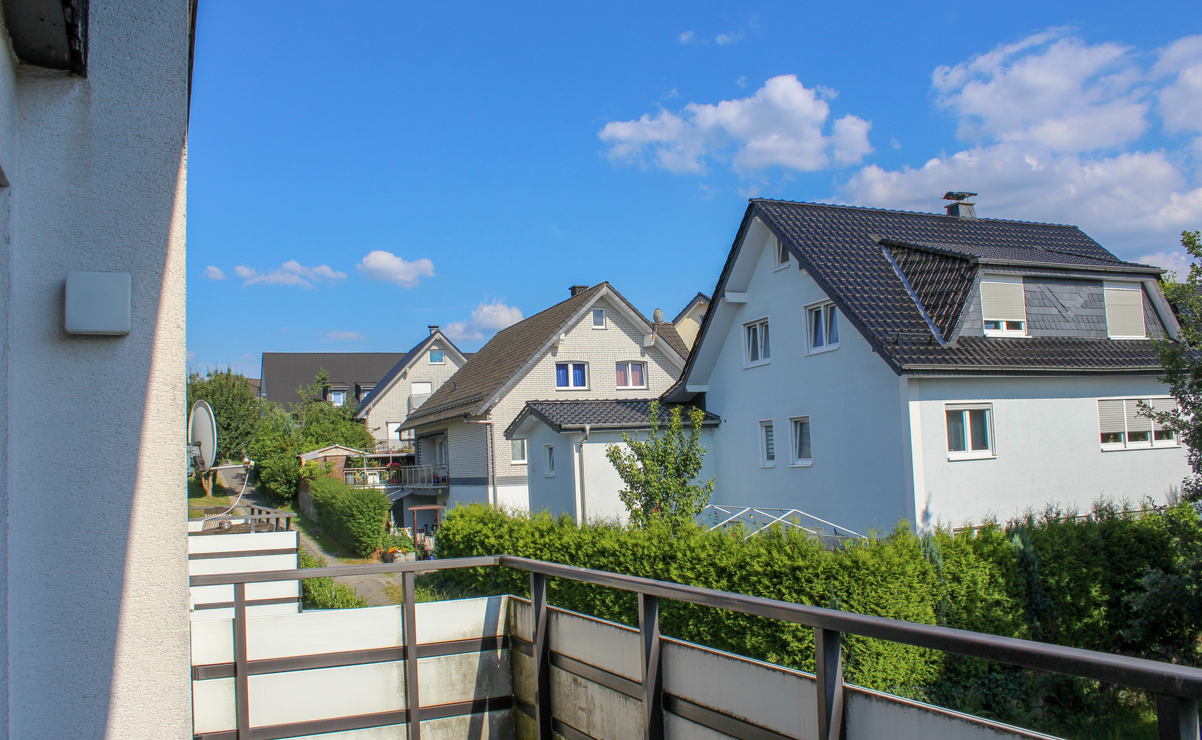 Balkon in Süd-Ausrichtung in Nümbrecht