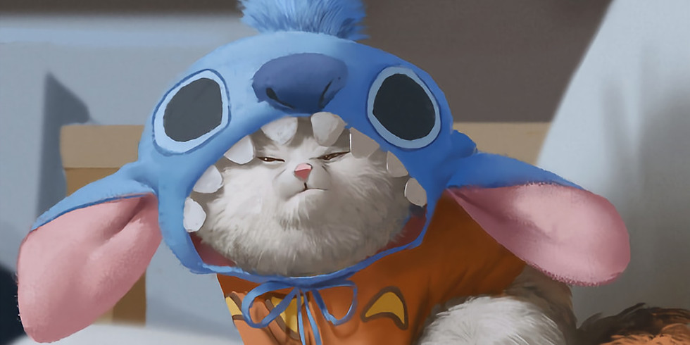 Movie with Cats: Lilo and Stitch