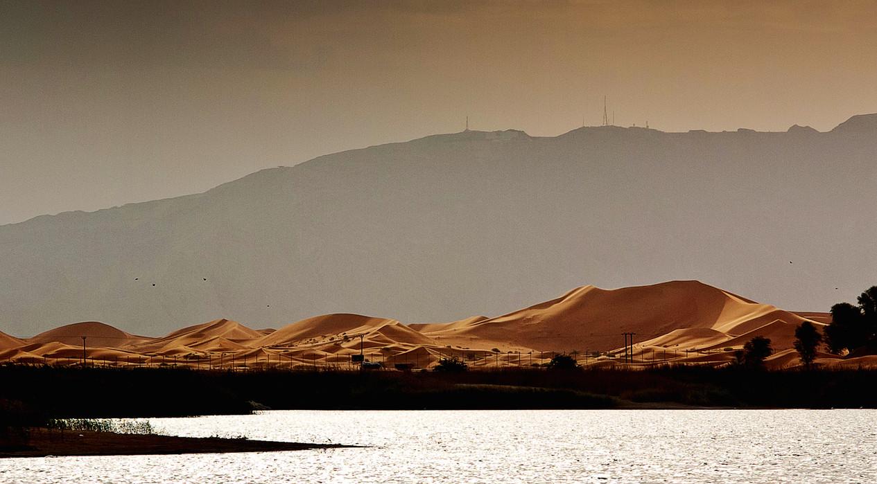 Zakher Lake Dunes and Jebel Hafeet