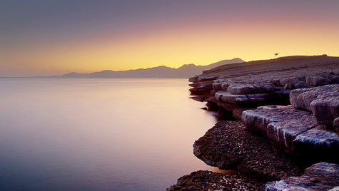 Dawn in Khasab Musandam Oman