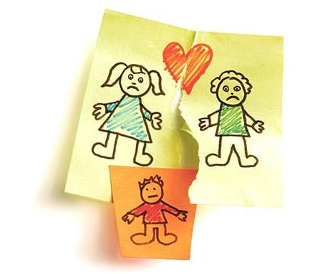 Como explicar la separación o el divorcio a los niños y niñas.