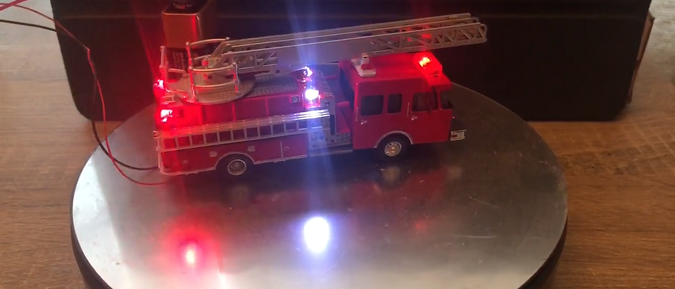 Walthers scene master vehicles fire ladder truck