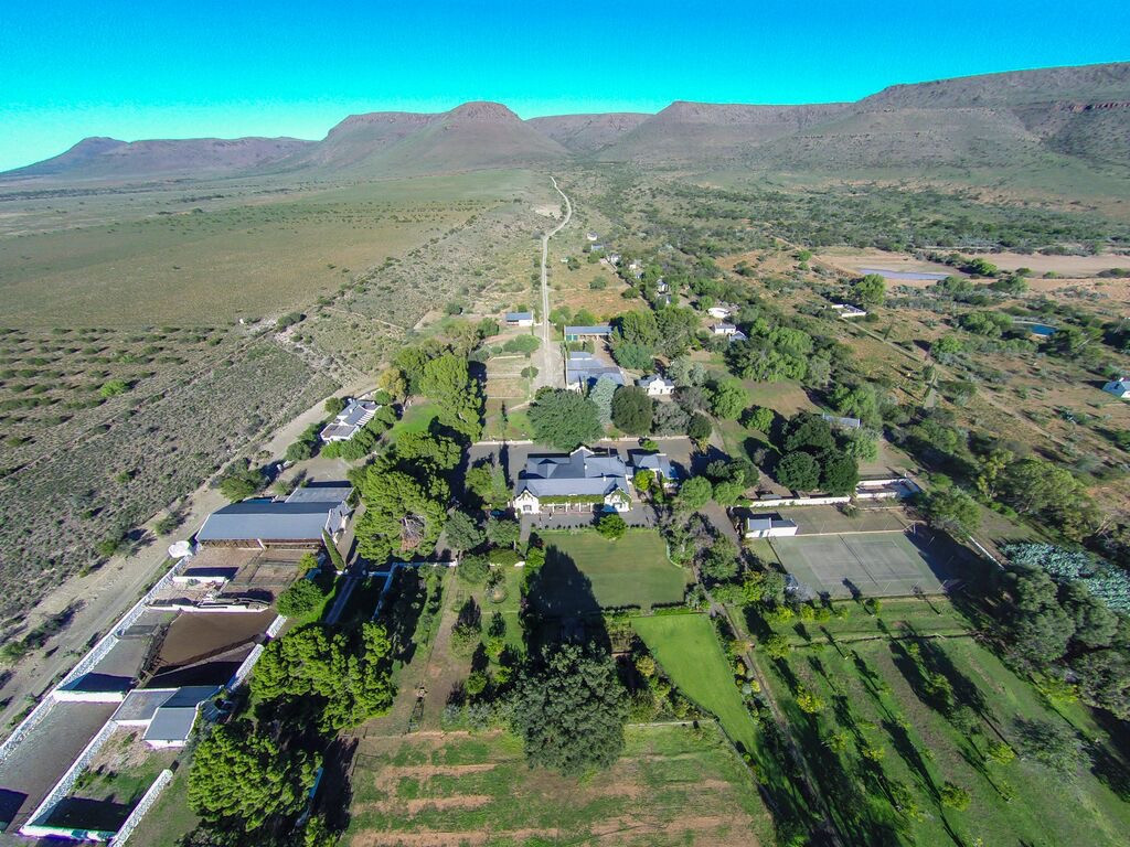 Trymore Cottage | Aerial view farm