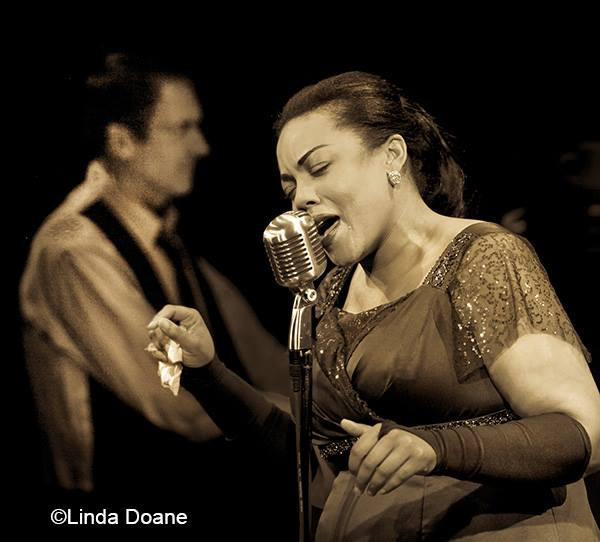 LADY DAY AT EMERSON'S BAR AND GRILL Bunbury Theatre  Billie Holiday: Janelle Renee Dunn Conductor: Steve Crews Directed by: Clyde Tyrone Harper