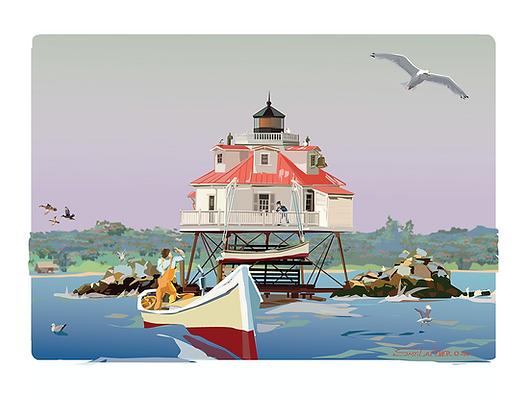 Lighthouse Conversation