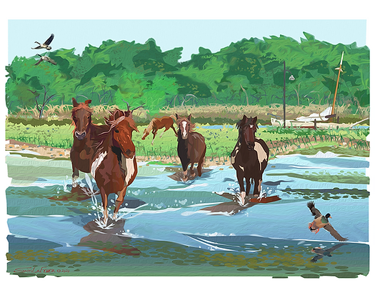 Chincoteague Ponies #2